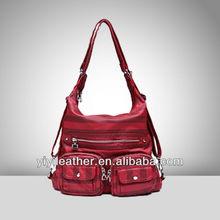 J086-2014 bag nylon bag,zipper nylon tote bag
