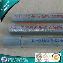 electrical conduit galvanized steel conduit