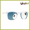 Logo Lens Wayfarer pin hole Sunglasses Cartoon Eye Design