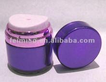 Airless Acrylic jar cosmetic packaging