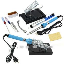 9 in1 DIY Electric Soldering Iron Starter Tool Kit