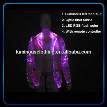 new optic fiber suit fabric wedding suits for men 2014