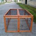 barato galvanizado soldado conejo jaula de malla de alambre