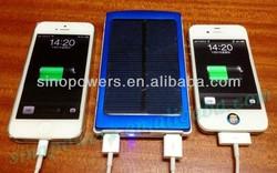Big Capacity Solar Power Banks, Dual Output, 10000mAh, Solar Panel 1.5w for smartphones Camera PSP MP3/4/5