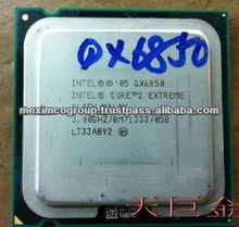 Original Intel CPU Intel Core2 Extreme QX6850 CPU/ 3.0GHz/ LGA775 /8MB Cache/ FSB1333/Quad-CORE/Quad-Thread /130W