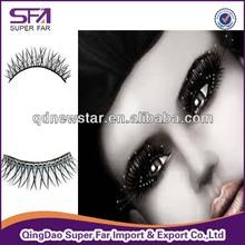 Free sample fashion diamond eyelash, black diamond eyelash,free fake eyelashes