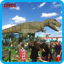 Outdoor Fiberglass Dinosaur Garden Large Sculpture