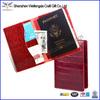 2014 Factory Top Grade Waterproof Travel Genuine Leather Passport Case