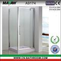 cuarto de baño conjunto con bisagras de la puerta de la ducha sala de cuarto de baño conjunto a9174