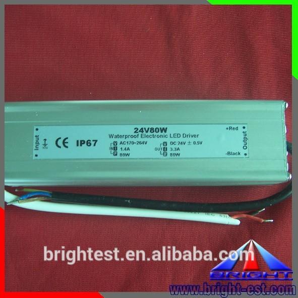 80W LED Power Supply,24V led driver