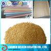 Animal skin gelatin/pork skin gelatin for textile 120bloom