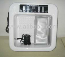 Detox foot spa basin with vibration massage and heating function
