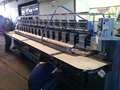 Feliz máquina de bordar usadas 15-20 cabeças