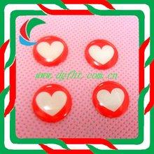 Mobile phone button epoxy sticker