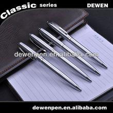 Dewen gift promotional pen ,metal ballpoint laser logo pen