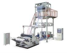 PE heat shrinkable film making machine for bottled water packaging