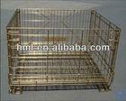 Industrial Electro Galvanized metal crate For PET Preforms Storage