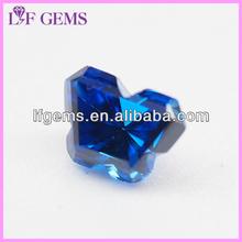 birthstone Precious butterfly cut blue sapphire gems