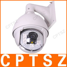 Waterproof 18x Zoom 480TVL H.264 SONY CCD High Speed IP Camera with 120M IR Vision Supporting PoE/PTZ and Smartphone Viewing