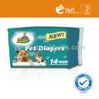 Pet Diaper / Puppy Diaper / Dog Diaper cheap disposable diapers strong scents