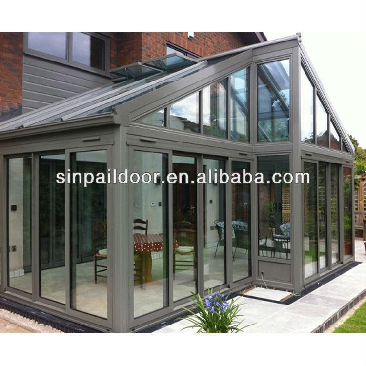 Nice Aluminium Sunroom With Sliding Conservatory Doors