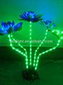 bunte dekorative blume licht geführt lotus licht künstlichen lotusblumen lichter