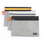zippered pencil pouch , bills pocket ,