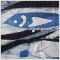 fish classic impresso tecido de linho puro
