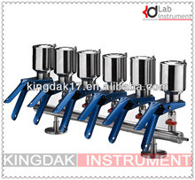 six-branch stainless steel Manifolds Filtration Apparatus