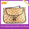 New arrival trendy zipper closure cute travel cosmetic bag(NV-CSC227)
