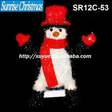 Light up Christmas items/Lighted Christmas penguin/snowman/Christmas decoration with lights