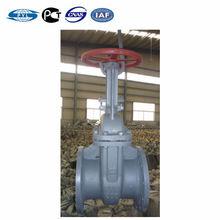 Carbon steel russia standard gate valve flanged type rising stem Z41H-16C