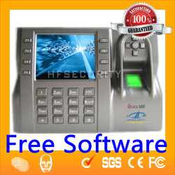 IClock580 High Quality TCP/IP Finger Scan Bio Time Clock