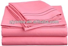 Super Soft Cheap Microfiber Embroidery Bed Sheet Sets