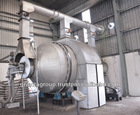 Lead battery smelting plant rotary furnace