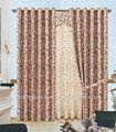 Parede de cortina vidros / cortinas frisadas janela / cortina drape