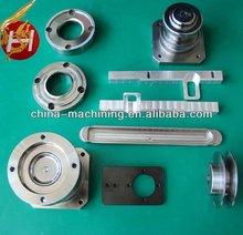 Precisión cnc de mecanizado de piezas / serger máquina y partes