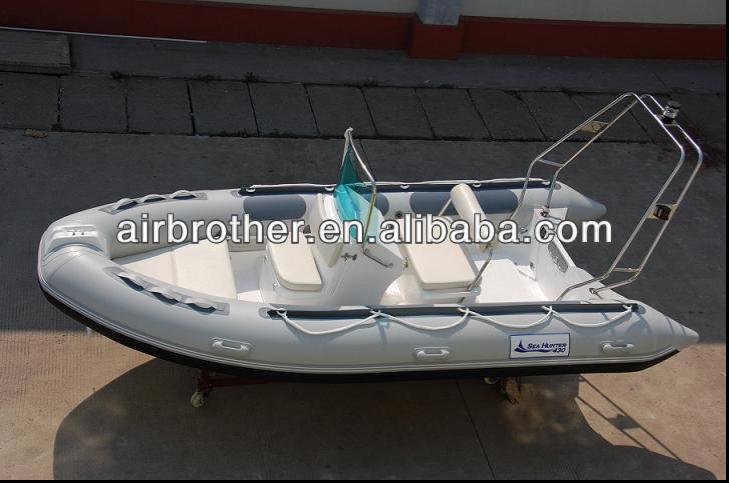 2014 luxury pvc inflatable rib boat