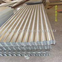 corrugated pure zinc steel plate