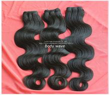 Genuine raw indian hair 100% unprocessed wholesale virgin indian hair
