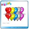 venda quente do coração em forma de balão para a festa de balão promocional
