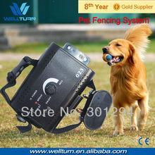 Adjustable Electric Leopard LED Pomeranian Pet Dog Leash Beagle Pet Control Dog Fence Collar