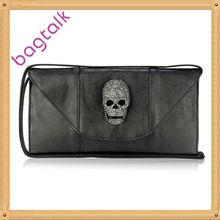 Black Skull Clutch Bags For Women Latest Fashion Lady Clutch Bags