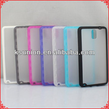 For galaxy note 3/n9000 case, tpu+pc mobile phone case