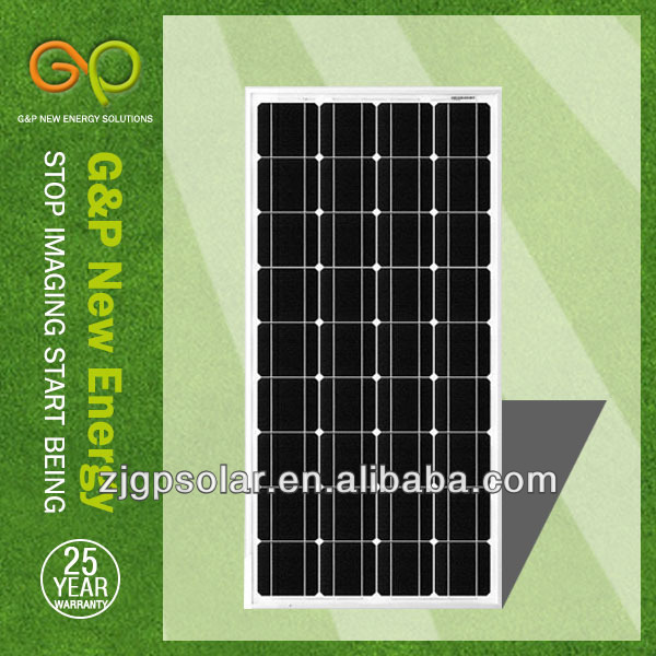 G&P 100Wp solar panel,with TUV and cell from Germany