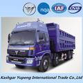 de tipo popular foton man diesel camiones volquete a bajo precio
