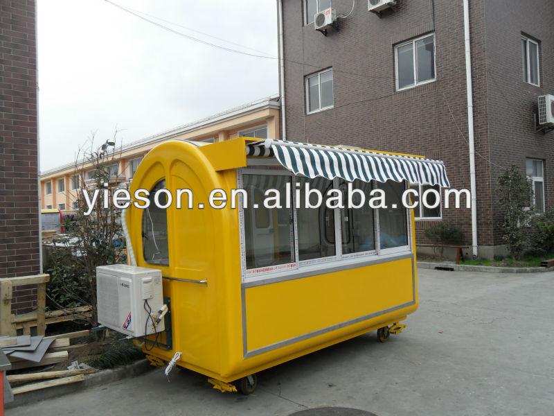 carrinhos de venda de comida de rua quiosque