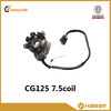 7.5 coil stator coils for motor for CG125 motorcycle engine