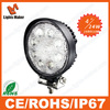 Hot selling 24W heavy duty led work light square tractor lights for sale