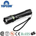 high lumen rechargabled cree led flashlight zoom TP-1801C
